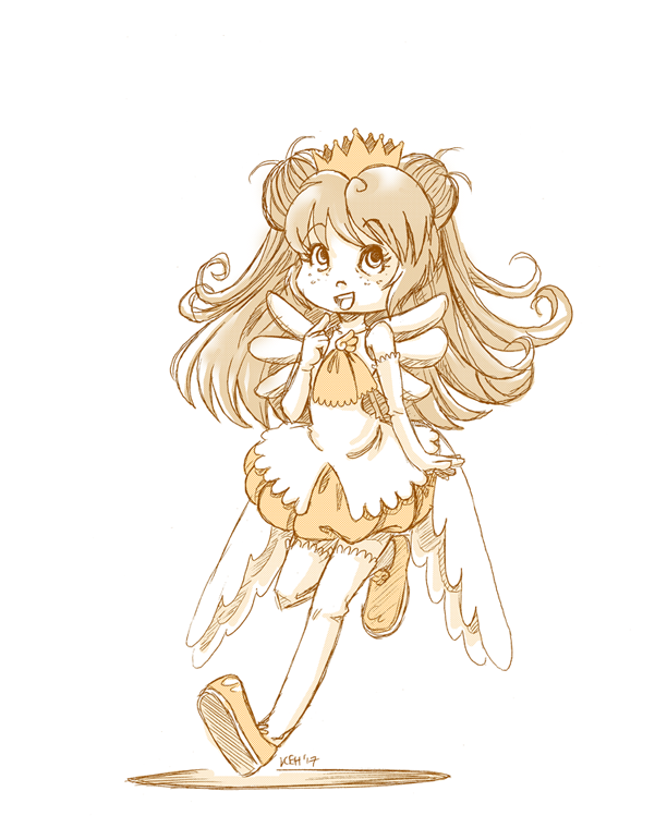 Patreon Request Sketch   Alice in CCS Costume! by tea-bug