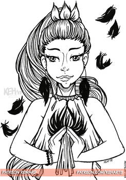 Patreon Reward   Princess Shaalin