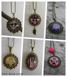 Original Artwork Necklaces by keh-arts