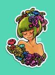 Rainbow Bouquet by keh-arts