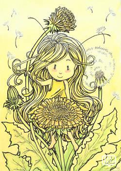 Huevember   Teasel + Dandelions