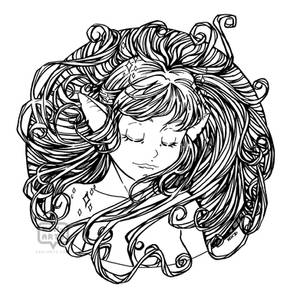 Pixie Lineart