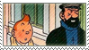 Tintin N Captain Stamp