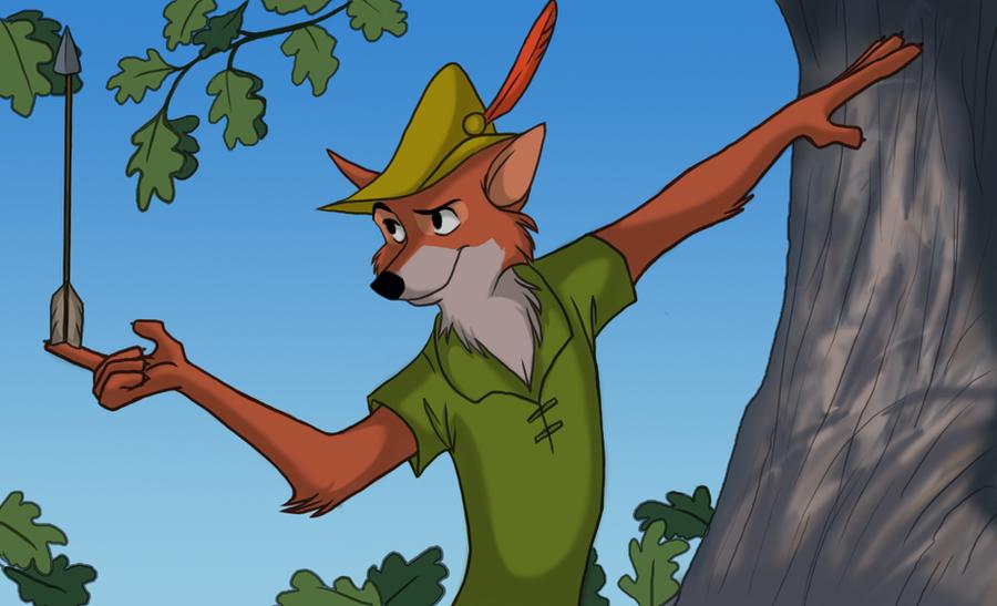 Disney's Robin Hood by kimba16