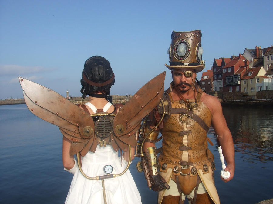 Steampunk overlord by overlord-costume-art