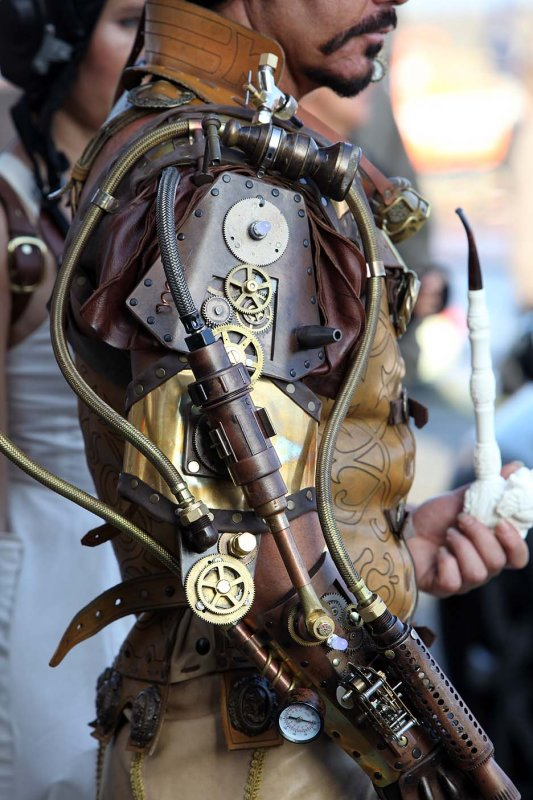 Steampunk overlord mechanical