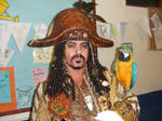 Pirate +real parrot from POTC
