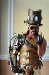 Steampunk Overlord, beckoning.