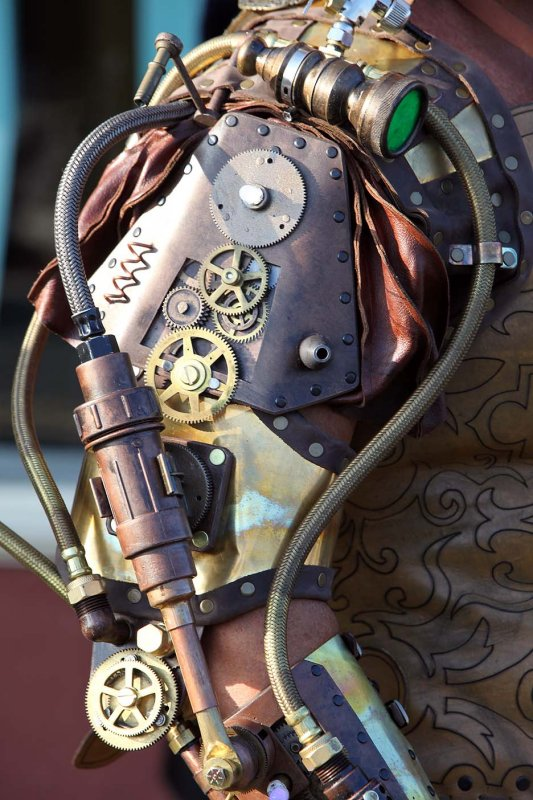 Gallery For gt Steampunk Mechanical Arm How To Make