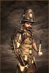 steampunk golddd ss by overlord-costume-art
