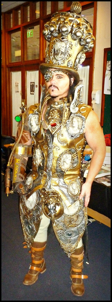 cosplay steampunk cirquepunk by overlord-costume-art
