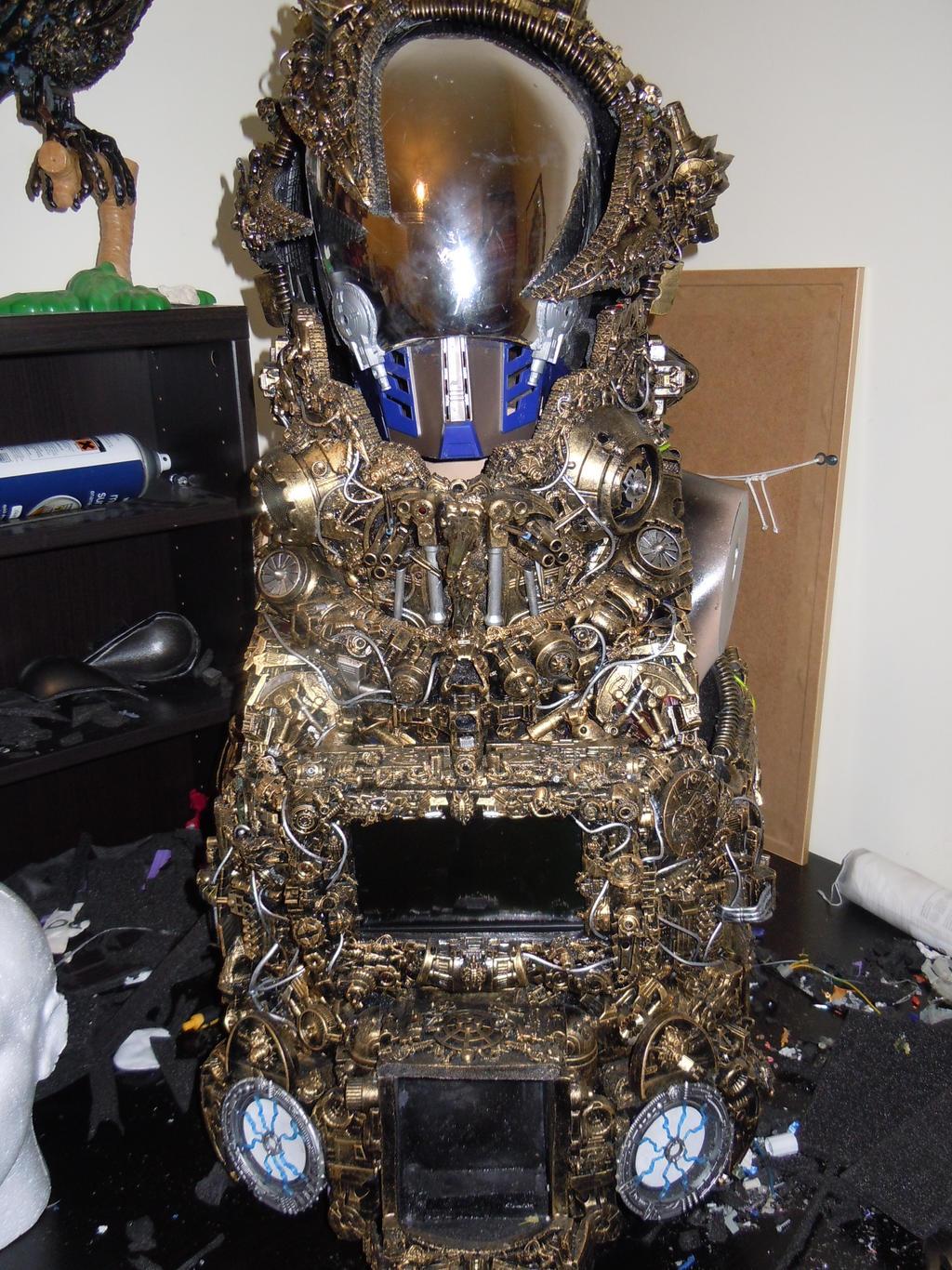 alien astronaut steampunk cyberpunk borg by overlord-costume-art