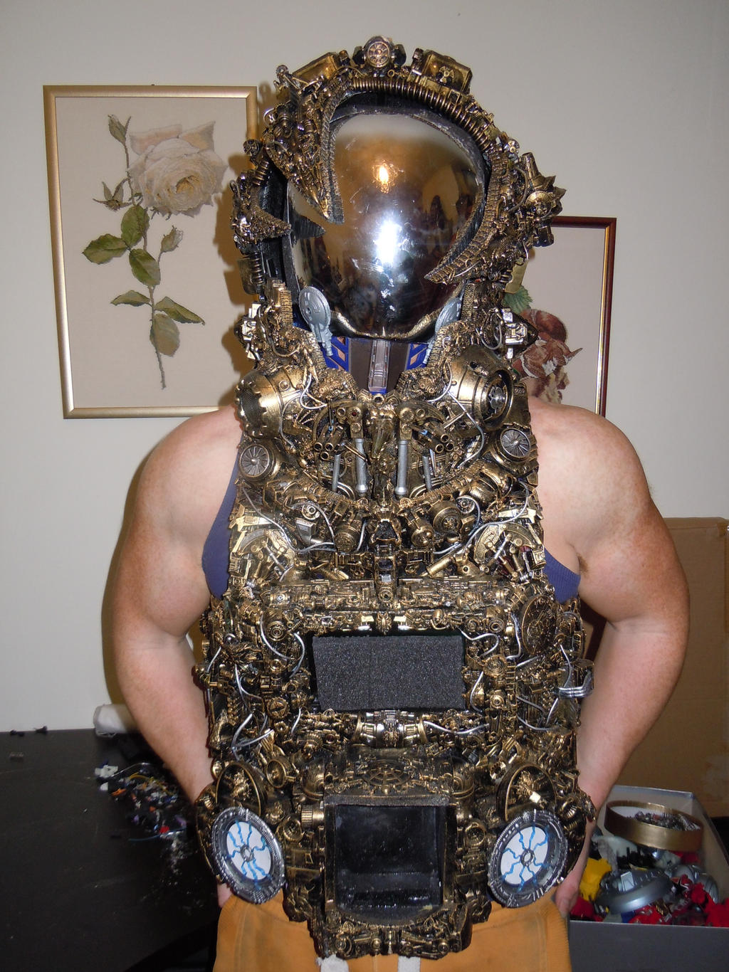 alien astronaut steampunk cyberpunk cosplay borg by cosplayoverlord