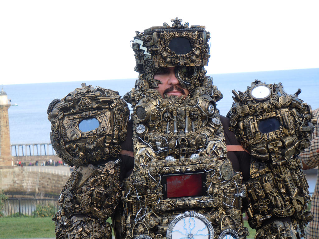 alien astronaut Ancient Astronaut steampunk cyber by overlord-costume-art