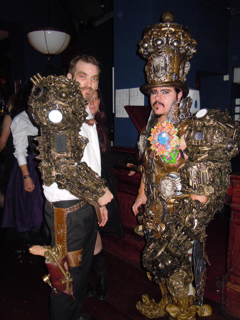 steampunk borg cyberpunk arms by overlord-costume-art