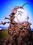 baby borg wearable sculpture artist by overlord-costume-art