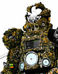 wearable sculture artist ancient astronaut/alien by overlord-costume-art