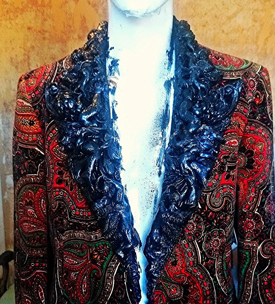 tuxedo smoking dinner jacket front