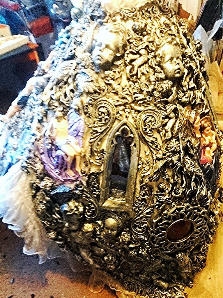 wedding dress side bottom