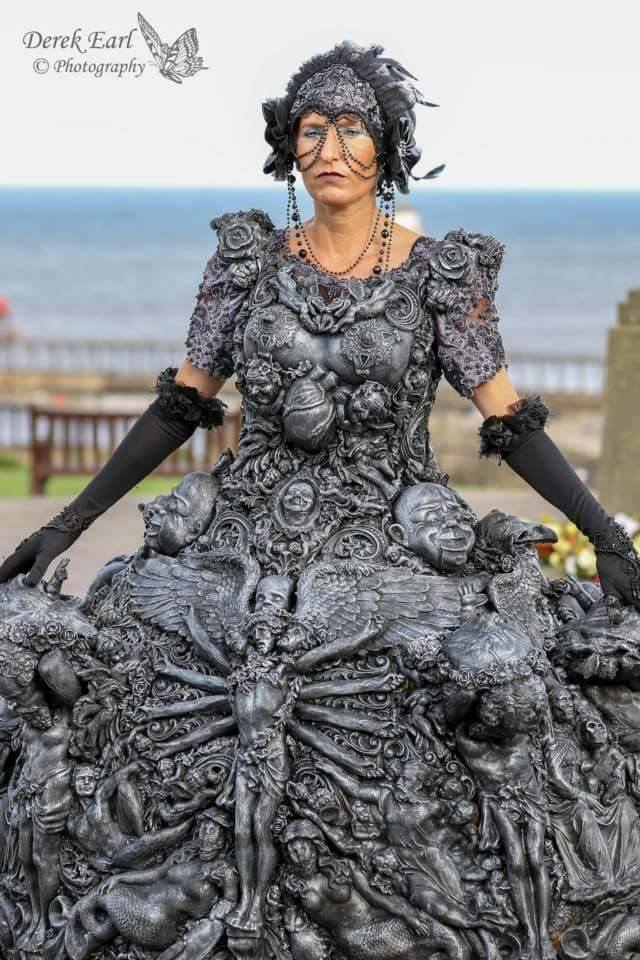 fine art fashion wearable sculpture by overlord-costume-art