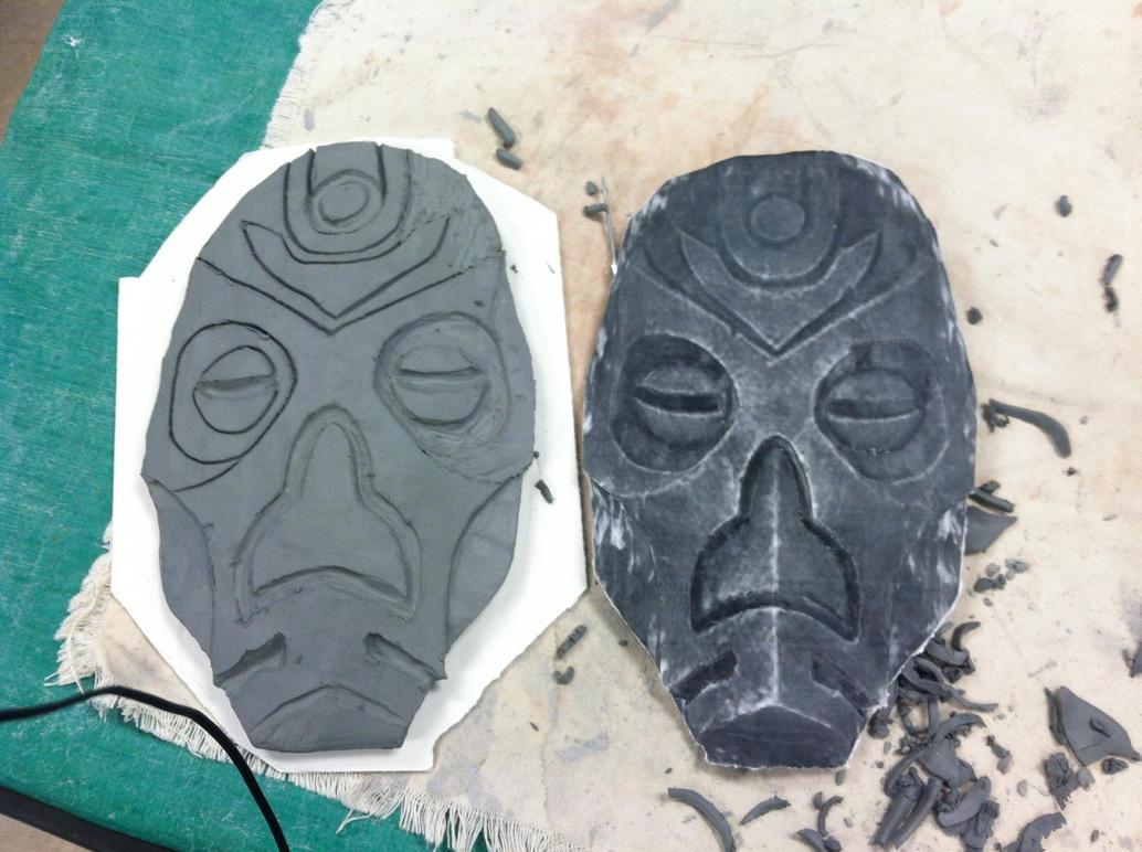 Dragon Priest Mask day 2 by imredneckson