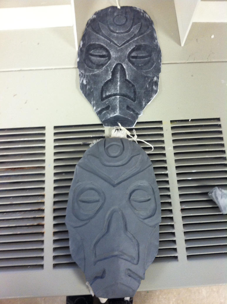 Dragon Priest Mask day 4 by imredneckson