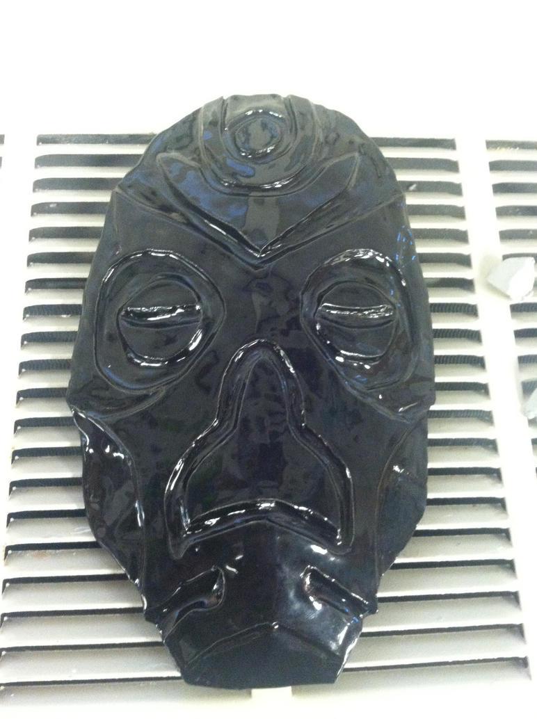 Dragon Priest Mask finished by imredneckson