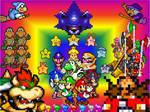Super Mario Bros Z poster
