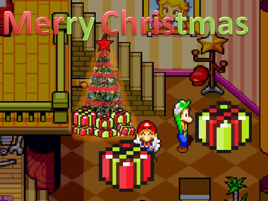 A Merry Mario Christmas by Docdanny96 on DeviantArt