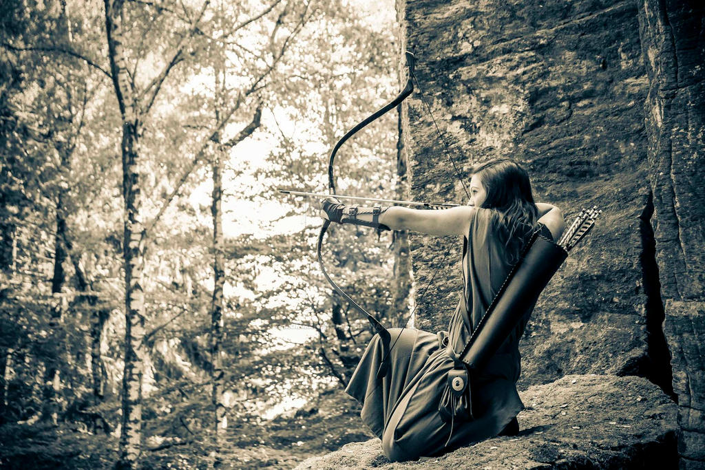 MCC: LORD OF THE RINGS: Dunedain (female) 24 by MummeryComics