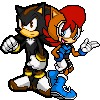 Korey and Sally- Sonic Advance 3 by TheGreatPikminZX