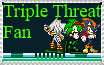 Triple Threat Fan stamp by TheGreatPikminZX
