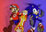 Mario Riders, Sonic Strikers