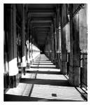 a square corridor