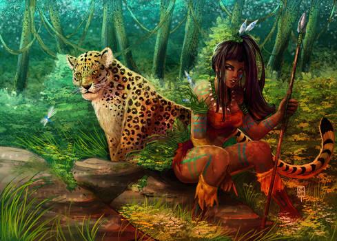 Jungle Friends - Coloured