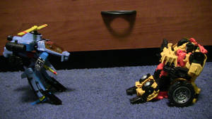 Ed-209 vs. Professor X Cosplay