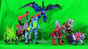 AoE Dinobots Dino Modes