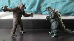 Godzilla vs. Kong!... Almost!