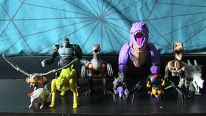 Beast Wars Alt. Modes So Far