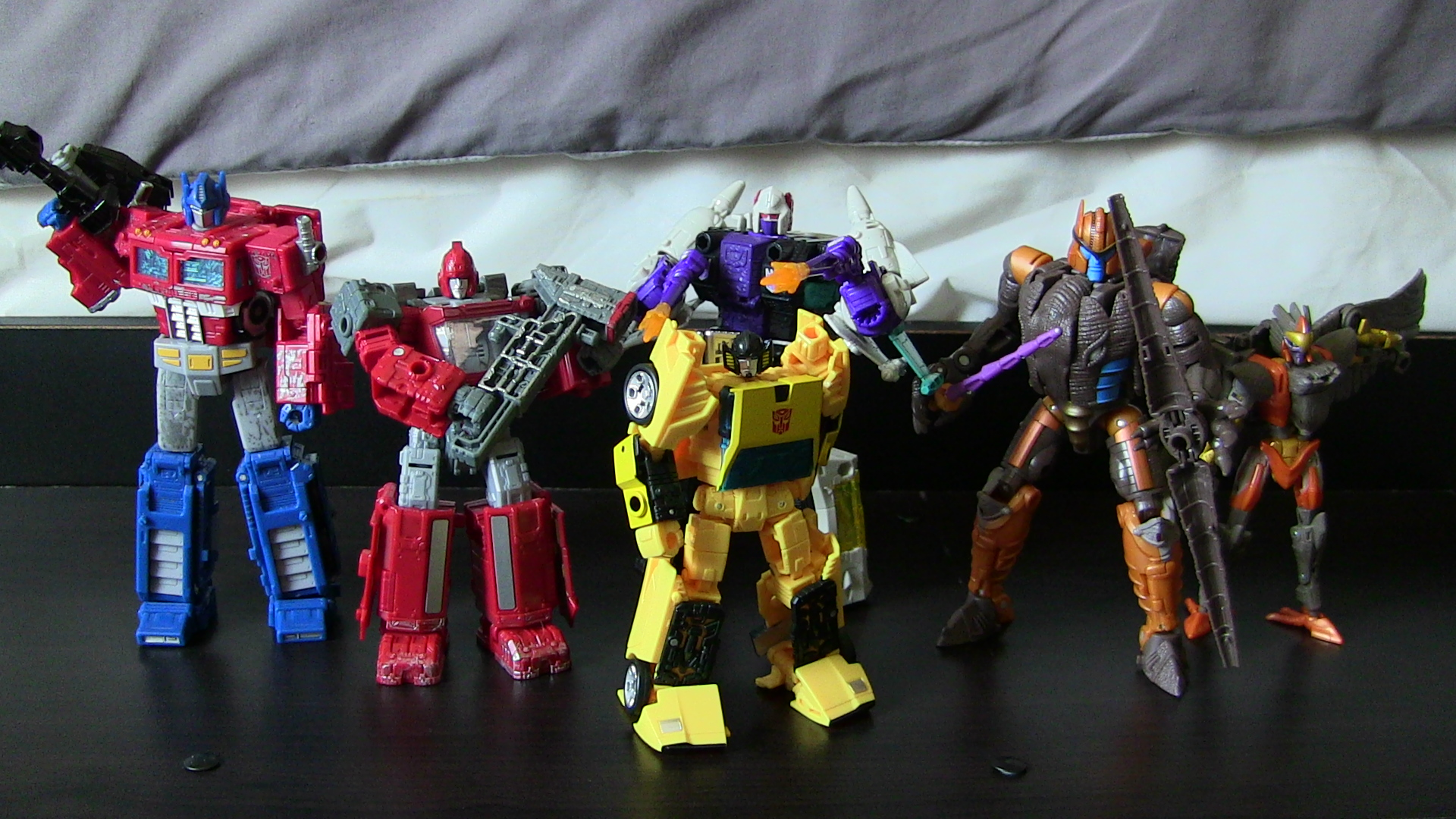 My Favorite War for Cybertron Figures