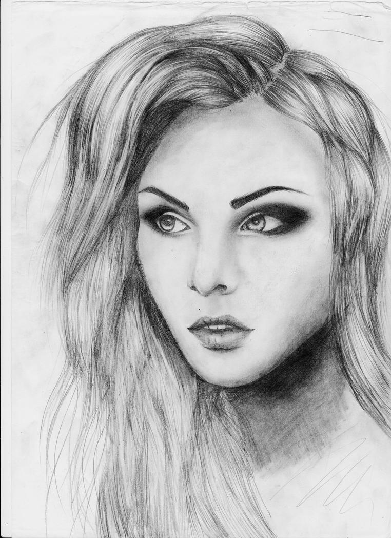 Sketch Girl by Sa-RAWRFace Sketch Girl Tumblr