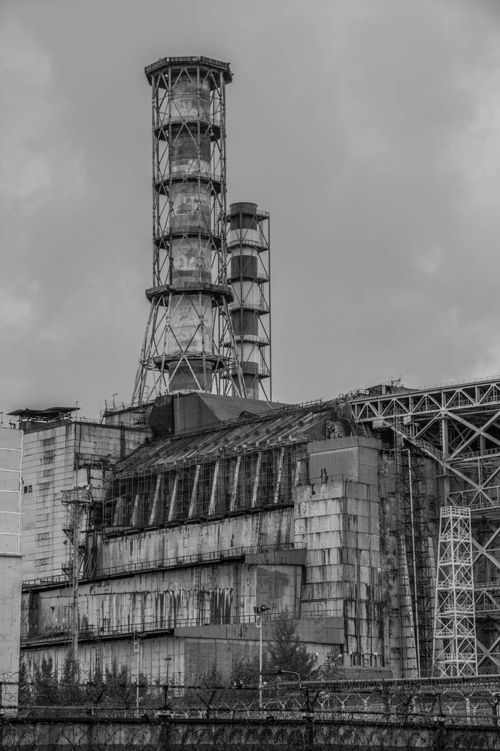 Chernobyl Nuclear Power Plant sarcophagus by xPedrox90 on