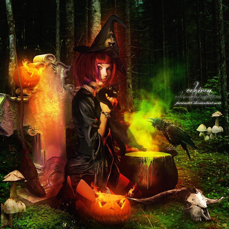 Halloween Greetings by peroni68