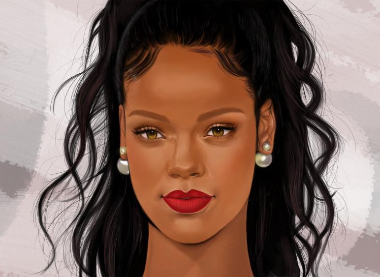 Rihanna by jkio on DeviantArt