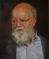 Daniel Dennett - A Portrait by RantingJo