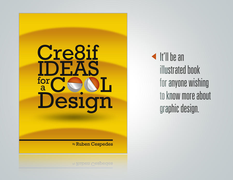 Cool Textbook Cover Ideas : Cre if ideas for a cool design book cover by niti grafix