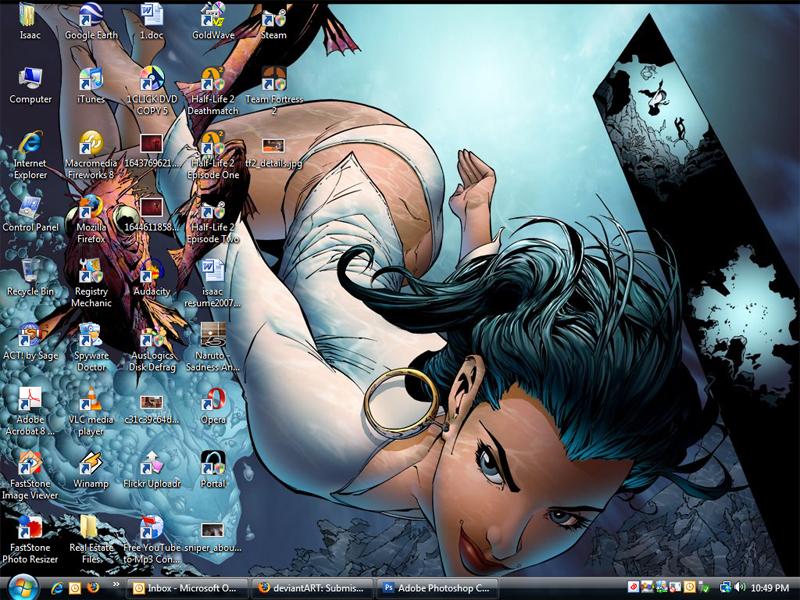 Desktop Screenshot by herospy