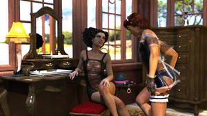 Plongeon pour Mistress Amisi