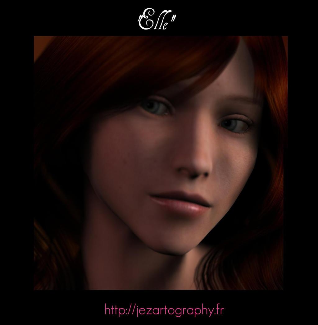 'Elle' jezartography by jeremusic