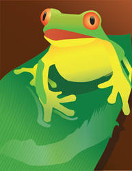 Tropical Frog